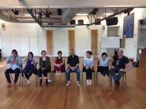 Clowning for facilitators workshop