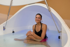 Yoga-inspired float tank tips for Fibromyalgia